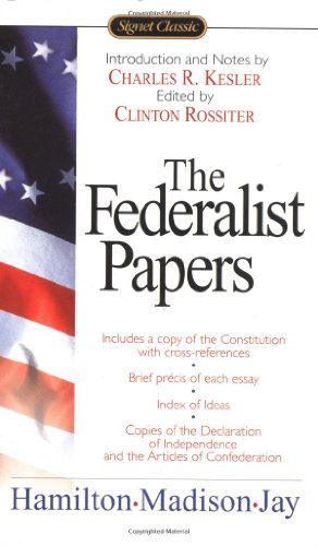 Federalist Papers   1961 edition cover