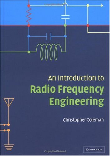 Introduction to Radio Frequency Engineering   2004 9780521834810 Front Cover