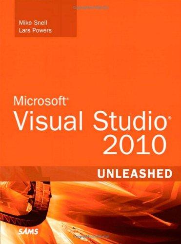 Microsoft Visual Studio 2010 Unleashed   2011 edition cover