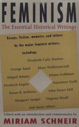 Feminism The Essential Historical Writings  1994 edition cover