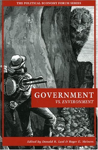 Government vs. Environment   2002 9780742521810 Front Cover