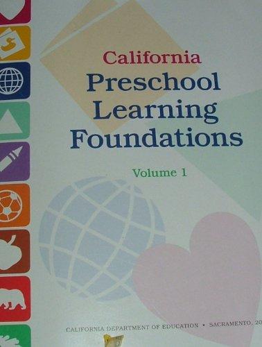 CALIFORNIA PRESCHOOL LEARNING N/A edition cover