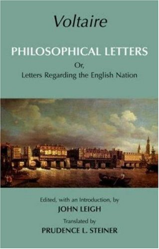Philosophical Letters Or, Letters Regarding the English Nation  2007 edition cover