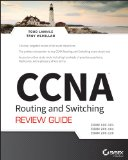 CCNA Routing and Switching Review Guide Exams 100-101, 200-101, And 200-120  2014 edition cover