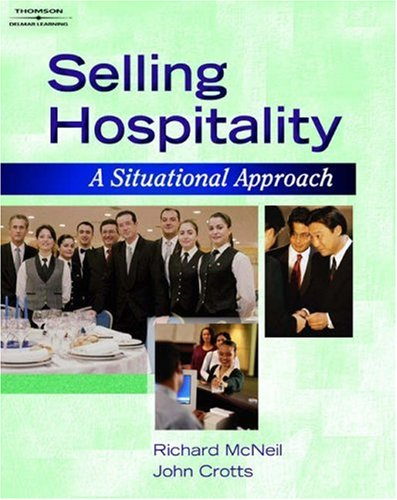 Selling Hospitality A Situational Approach  2006 9781401832810 Front Cover
