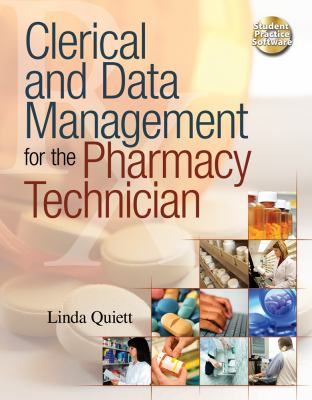 Clerical and Data Management for the Pharmacy Technician   2012 edition cover