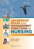 Leadership Roles and Management Functions in Nursing Theory and Application 8th 2015 (Revised) 9781451192810 Front Cover