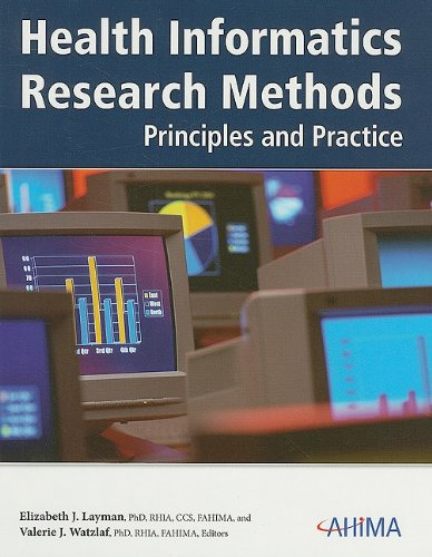 Health Informatics Research Methods: Principles and Practice  2009 edition cover