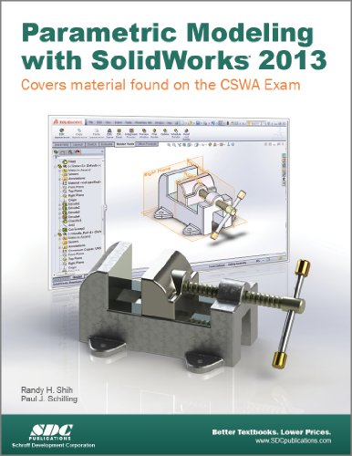 Parametric Modeling with SolidWorks 2013  N/A edition cover