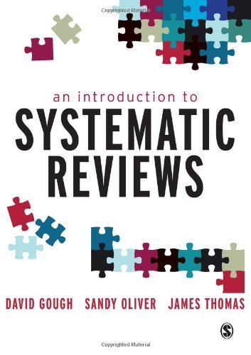Introduction to Systematic Reviews   2012 edition cover