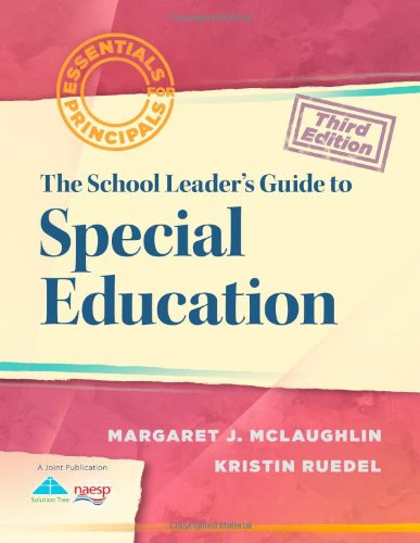 School Leader's Guide to Special Education  3rd 2012 edition cover