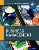 IB Business Management Course Book 2014 Edition For the IB Diploma 2nd 2014 edition cover