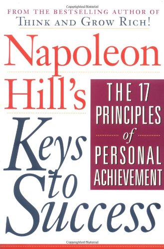 Napoleon Hill's Keys to Success The 17 Principles of Personal Achievement  1994 edition cover