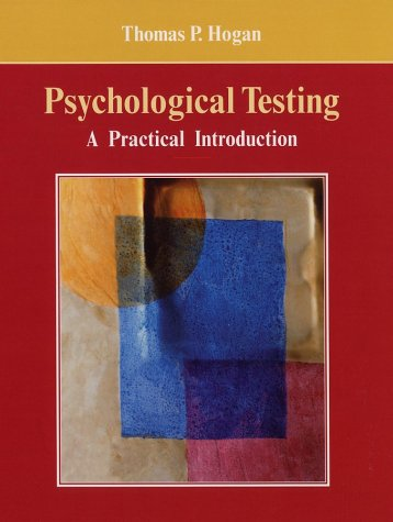 Psychological Testing A Practical Introduction  2003 edition cover