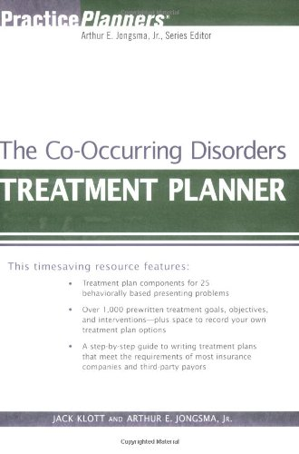 Co-Occurring Disorders Treatment Planner  3rd 2006 (Revised) edition cover