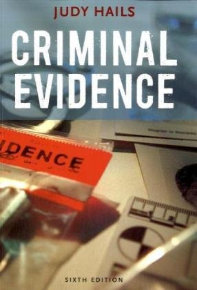 Criminal Evidence  6th 2009 (Revised) edition cover