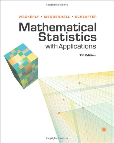 Mathematical Statistics with Applications  7th 2008 9780495110811 Front Cover
