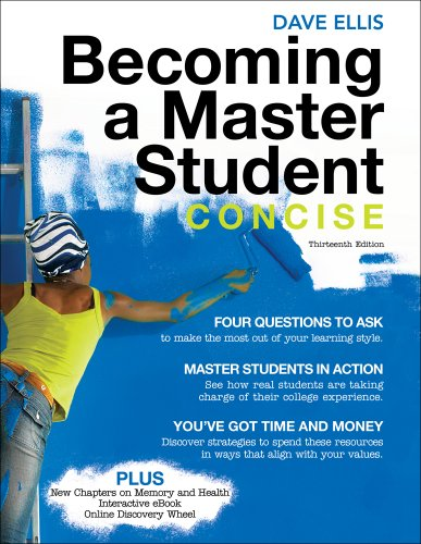 Becoming a Master Student Concise 13th 2012 edition cover