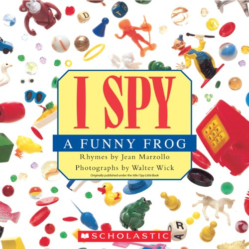 I Spy a Funny Frog  N/A 9780545415811 Front Cover