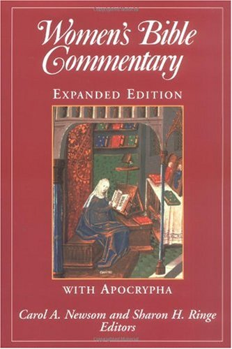 Women's Bible Commentary   1998 (Expurgated) edition cover