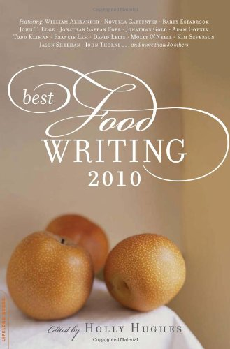 Best Food Writing 2010   2010 edition cover