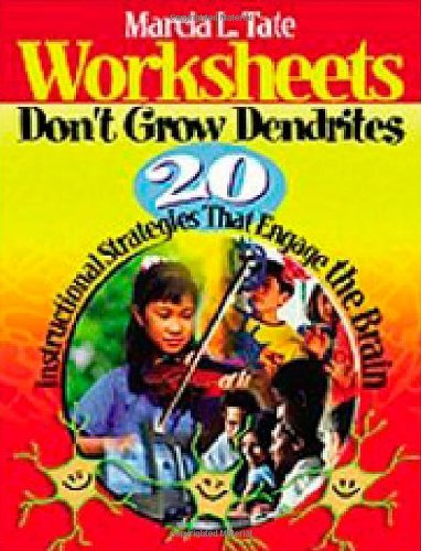Worksheets Don't Grow Dendrites 20 Instructional Strategies That Engage the Brain  2003 edition cover