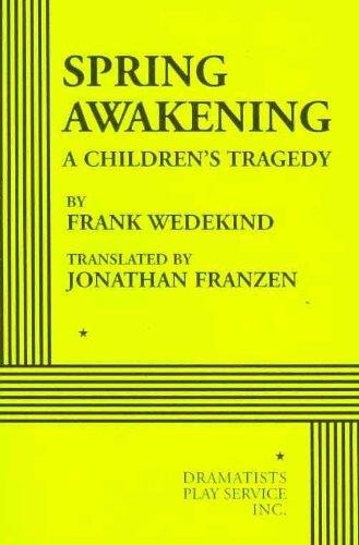 Spring Awakening   2009 edition cover