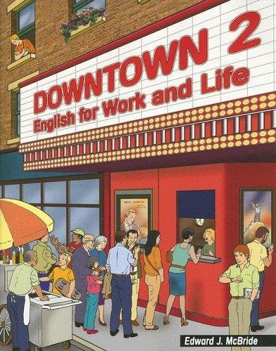 Downtown 4 English for Work and Life  2006 edition cover