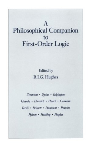 Philosophical Companion to First-Order Logic   1993 edition cover