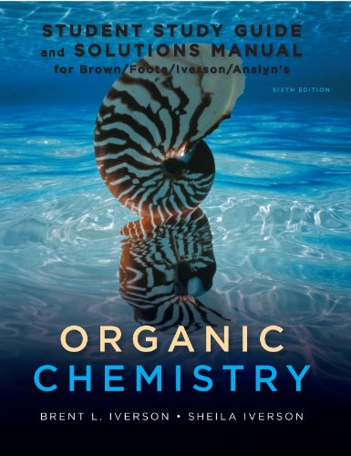 Organic Chemistry Student Study Guide and Solutions Manual 6th 2012 edition cover