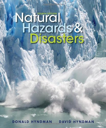 Natural Hazards and Disasters  4th 2014 edition cover