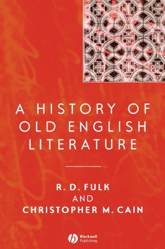 History of Old English Literature   2004 9781405121811 Front Cover