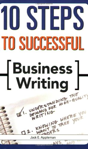 10 Steps to Successful Business Writing   2008 edition cover