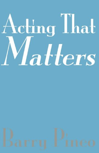 Acting That Matters   2004 edition cover