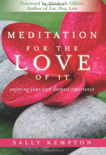 Meditation for the Love of It Enjoying Your Own Deepest Experience  2011 (Unabridged) edition cover