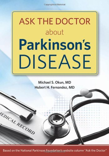 Ask the Doctor about Parkinson's Disease   2009 9781932603811 Front Cover