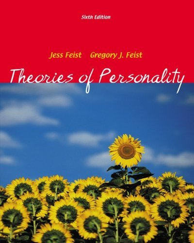 Theories of Personality 6th 2006 (Revised) edition cover