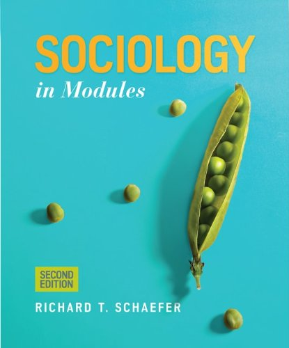 Sociology In Modular 2nd 2013 9780078026812 Front Cover