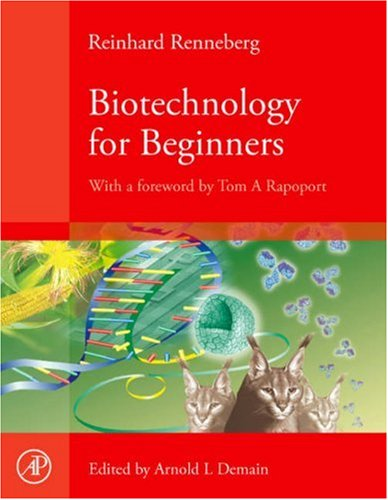 Biotechnology for Beginners  N/A edition cover