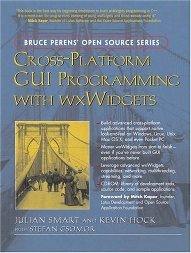 Cross-Platform GUI Programming with Wxwidgets   2006 9780131473812 Front Cover