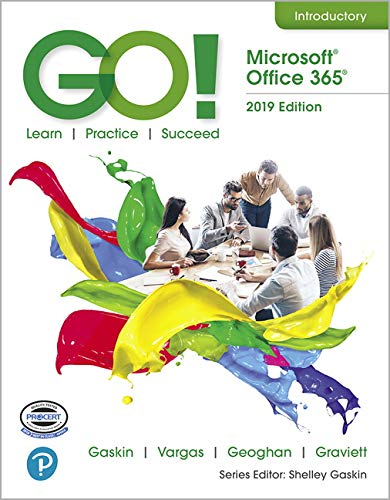 GO! with Office 2019 Volume 1   2020 9780135417812 Front Cover