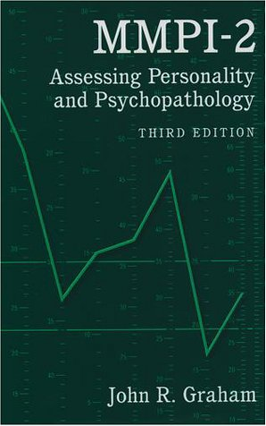MMPI-2 Assessing Personality and Psychopathology 3rd 1999 (Revised) edition cover