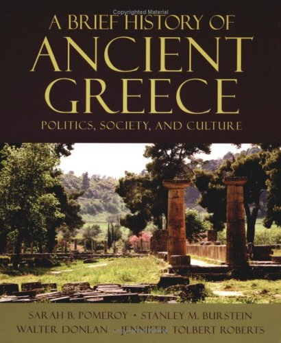 Brief History of Ancient Greece Politics, Society, and Culture  2004 edition cover