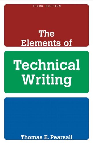 Elements of Technical Writing  3rd 2010 edition cover