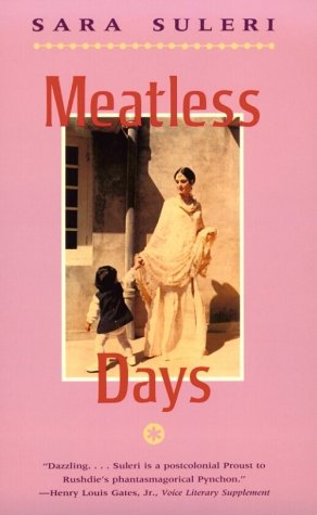 Meatless Days  Reprint  edition cover