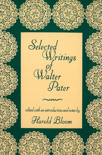 Selected Writings of Walter Pater  Reprint edition cover