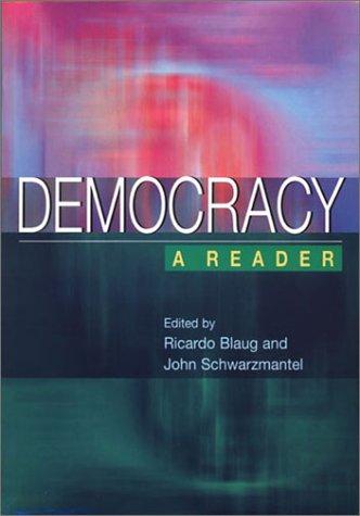 Democracy A Reader  2001 edition cover