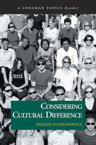 Considering Cultural Difference   2004 edition cover