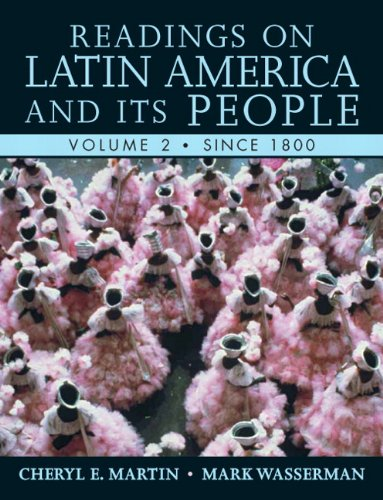 Readings on Latin America and Its People since 1800   2011 9780321355812 Front Cover