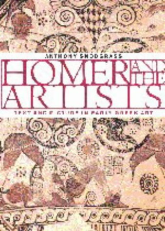 Homer and the Artists Text and Picture in Early Greek Art  1998 9780521629812 Front Cover